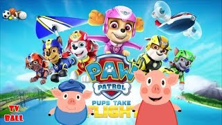 Paw Patrol and pig Finger Family song