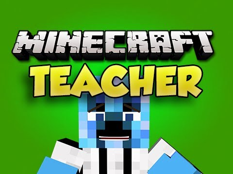 Minecraft TEACHER! Ep 1 (Minigame)