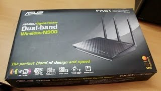 Asus RT N66U dual band WiFi router Unboxing & Overview