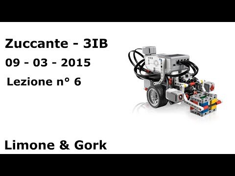 Lego EV3 – Lezione n° 6 – Zuccante, classe 3IB.