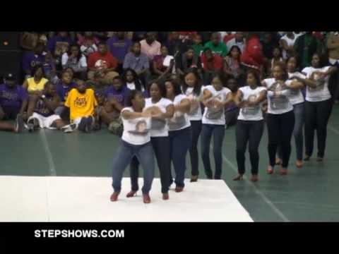 STEPSHOWS.COM - Mississippi Valley State University MVSU Homecoming Step Show 2009