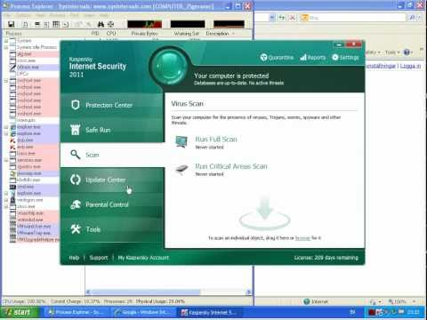Norton Internet Security 2011 vs. Kaspersky Internet Security 2011 (Part 1)