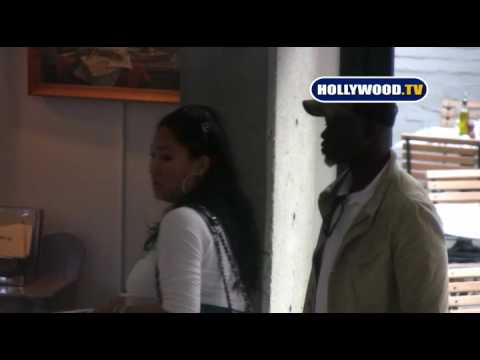 Djimon Hounsou And Kimora Lee At PaliHouse. Video