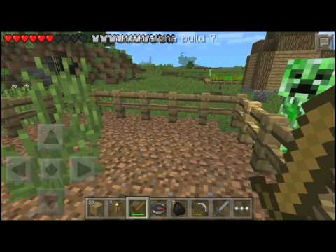 Minecraft Pocket Edition 0.9.0 Alpha Build 7 Livestream (Day 1)