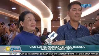 Vico Sotto, nahalal na bilang bagong Mayor ng Pasig City