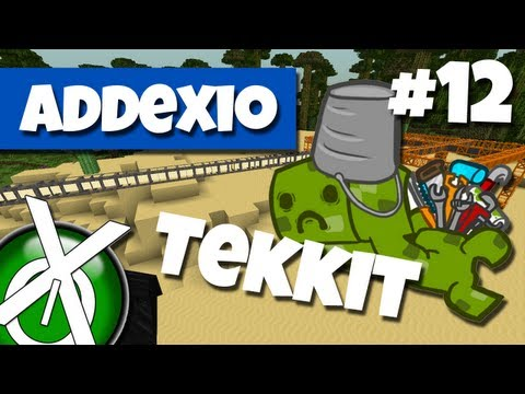 Tekkit med Addexio - Ep 12, Quarry