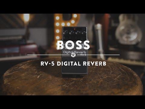 Boss RV-5 Digital Reverb | Reverb Demo Video