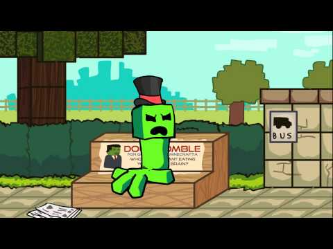 Minecraft Cartoon: Creep'd