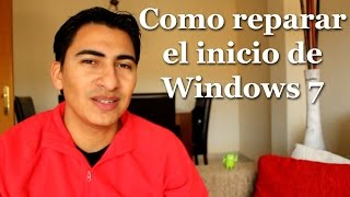 Cómo reparar inicio de Windows 7 sin formatear tu PC ✔