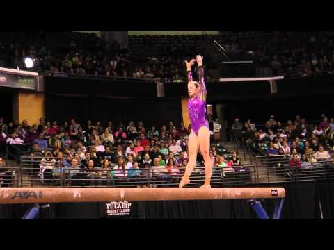 Lauren Mitchell - Balance Beam Finals - 2012 Kellogg&#039;s Pacific Rim Championships - 5th