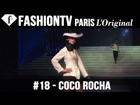JP Gaultier Spring 2015 ft Coco Rocha, Izabel Goulart, Karlie Kloss | Paris Fashion Week | FashionTV