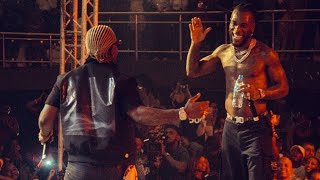 Burna boy live performance in Dar es Salaam