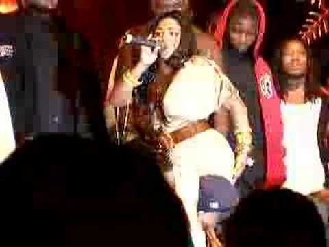 Lil Kim in ATL @ Gucci Mane Album release party Video