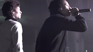 Les Twins and Majid at FunPark Nightclub in Hannover, Germany, October 17, 2014