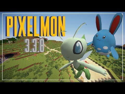 PIXELMON 3.3.8   CELEBI!! Y 8 POKEMON MAS + NAVIDAD    MINECRAFT 1.7.10