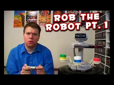 ROB the ROBOT Pt. 1 (GYROMITE) Review the IRATE Gamer