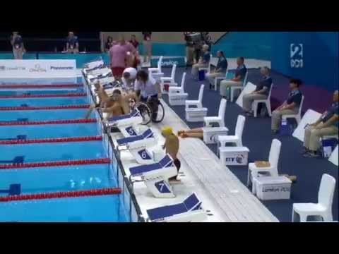 Ahmed Kelly 150m IM heat - London 2012