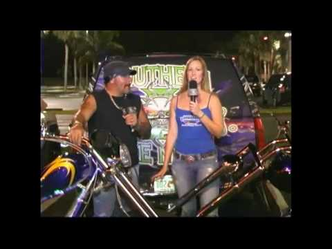 Ride an American Chopper to a Motorcycle Rally.mov Video