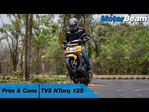 TVS NTorq 125 - Pros & Cons   MotorBeam