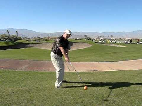 Mike Kingsrud PGA professional explaining the Orange Whip Golf Swing Trainer