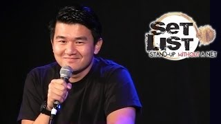 RONNY CHIENG: TARDIS trip advisor - Set List: Stand-Up Without a Net