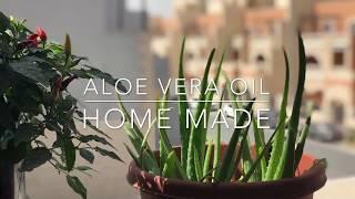 Aloe Vera Hair Oil Home Made