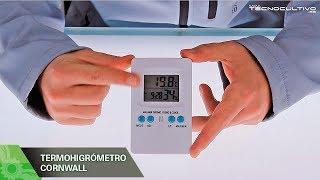 Termohigrometro medidor de temperatura y humedad