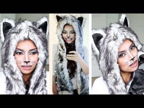 Sassy Cat Halloween Makeup Tutorial