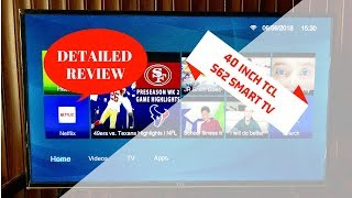 TCL SMART TV DETAILED REVIEW S62 40 inch   Best Budget Smart TV