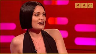 Jessie J sings with her mouth closed The Graham Norton Show Series 16 Episode 14 BBC One