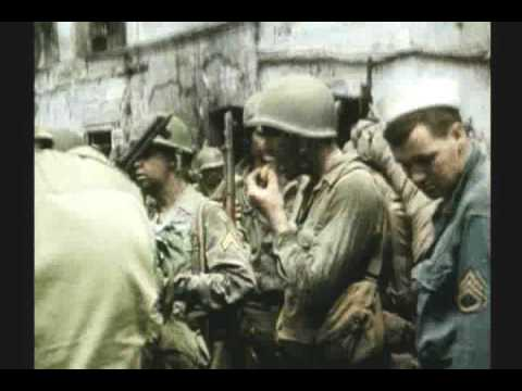WWII INVASION OF SOUTHERN FRANCE 1 OF 3 RARE COLOR FILM Music Videos