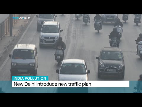 New Delhi introduces new traffic plan for air pollution