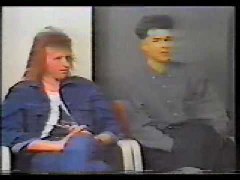 Big Country - Stuart Adamson and Bruce Watson interview 1988 - part 1