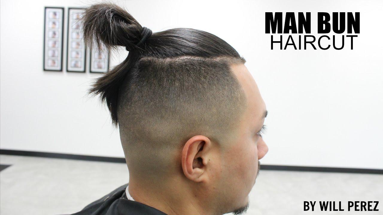 Bald man haircut