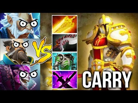 1vs5 Imba Omniknight Carry vs Magic 500 Dmg/Heal Purification Fun Gameplay by Mski.nb Dota 2