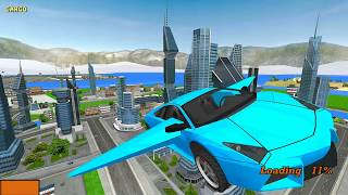 Real Flying Car Simulator Driver  - #Car Driving Simulator - Android Gameplay HD