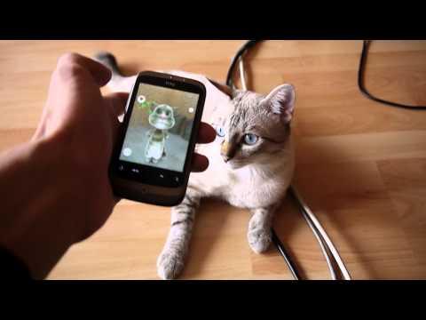 Pisica Vorbitoare, Cea Mai Cretina Aplicatie De Pe Android video