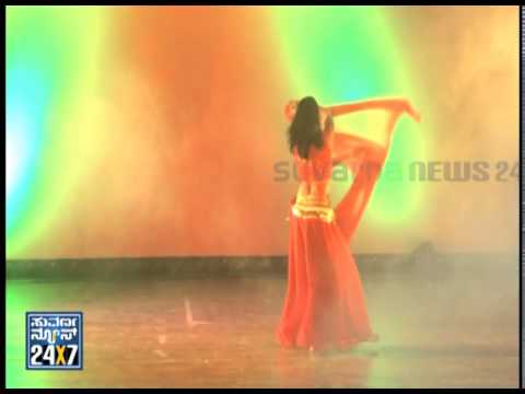 BELLY DANCE - 03 Nov 13 - Suvarna News