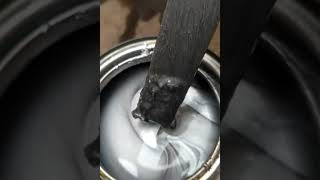 How mix Aluminum based silver paint.