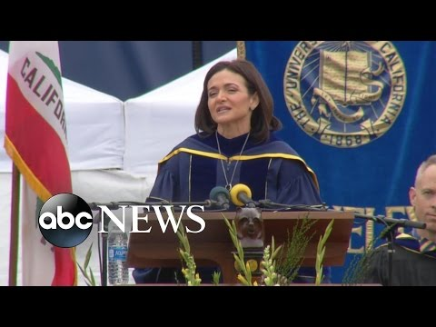Facebook Executive Sheryl Sandberg Speaks About Husband's Death