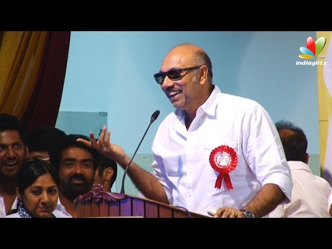 Sarath Kumar, Radharavi should leave way for the youngsters - Sathyaraj | Nadigar Sangam Election