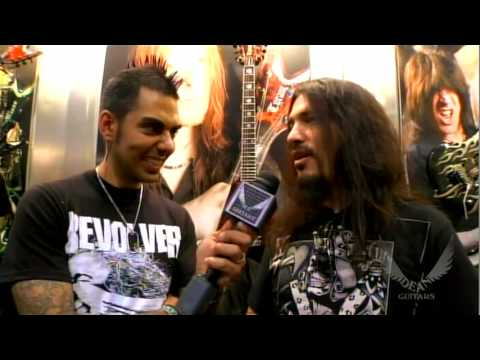 Rob Fynn of Machine Head @Dean Guitars NAMM 2010 Exclusive!