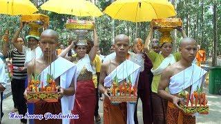 Tu lieu le xuat gia theo phong tuc khmer nam tong - chua mahatup soc trang