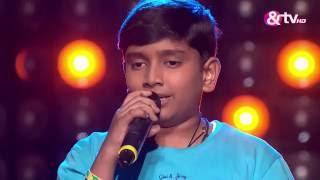 Divyansh Balagi Nagele - Blind Audition - Episode 9 - August 20, 2016 - The Voice India Kids