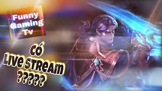 LIÊN QUÂN MOBILE | Funny Gaming Tv test Quillen ngay trên sóng Live Stream lượm ngay Penta...