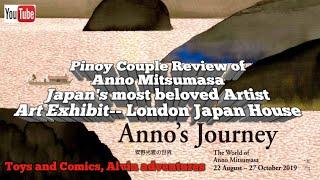 Japan House London -- Anno Mitsumasa Art Exhibit/ Pinoy Couple Review