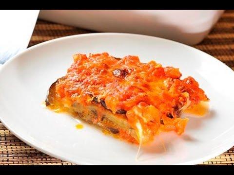 Lasaña de berenjenas - Eggplant Lasagna