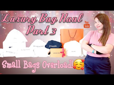Luxury Bag Haul 2019 Part 3! Small Bags to the Max!