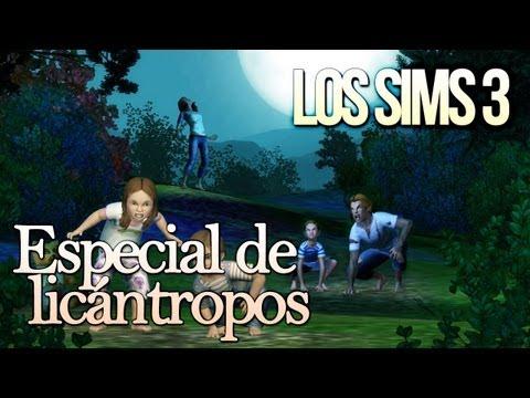 Los Sims 3: Tutorial de hombres lobo o licántropos (Guía de Criaturas Sobrenaturales) Parte 2/5