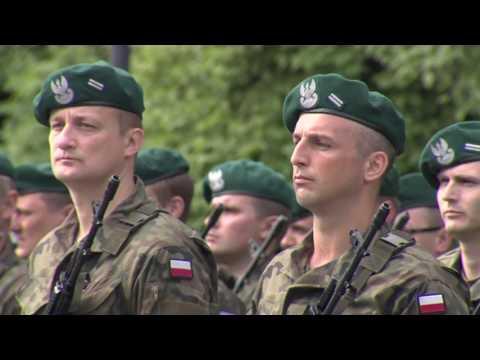 Pierwsi żołnierze WOT Złożyli Przysięgę - Białystok
